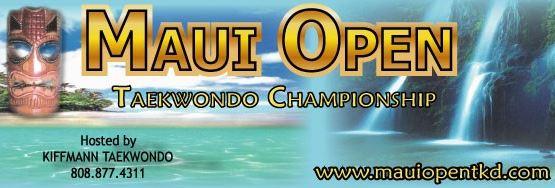 Maui Open Taekwondo 2015