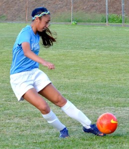 Pono soccer player Ilihia Keawekane