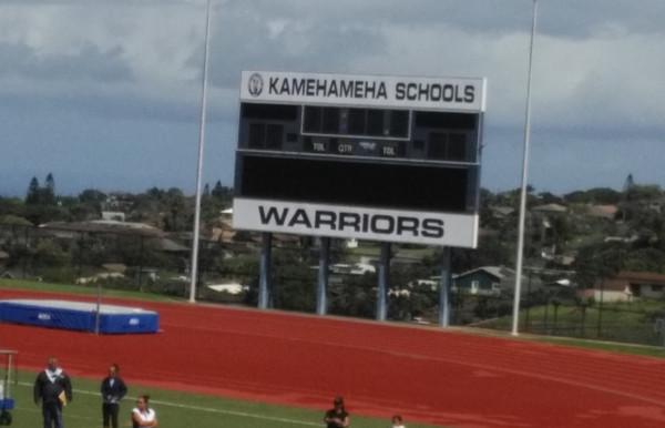 KS Maui Track & Field 3-01-2014