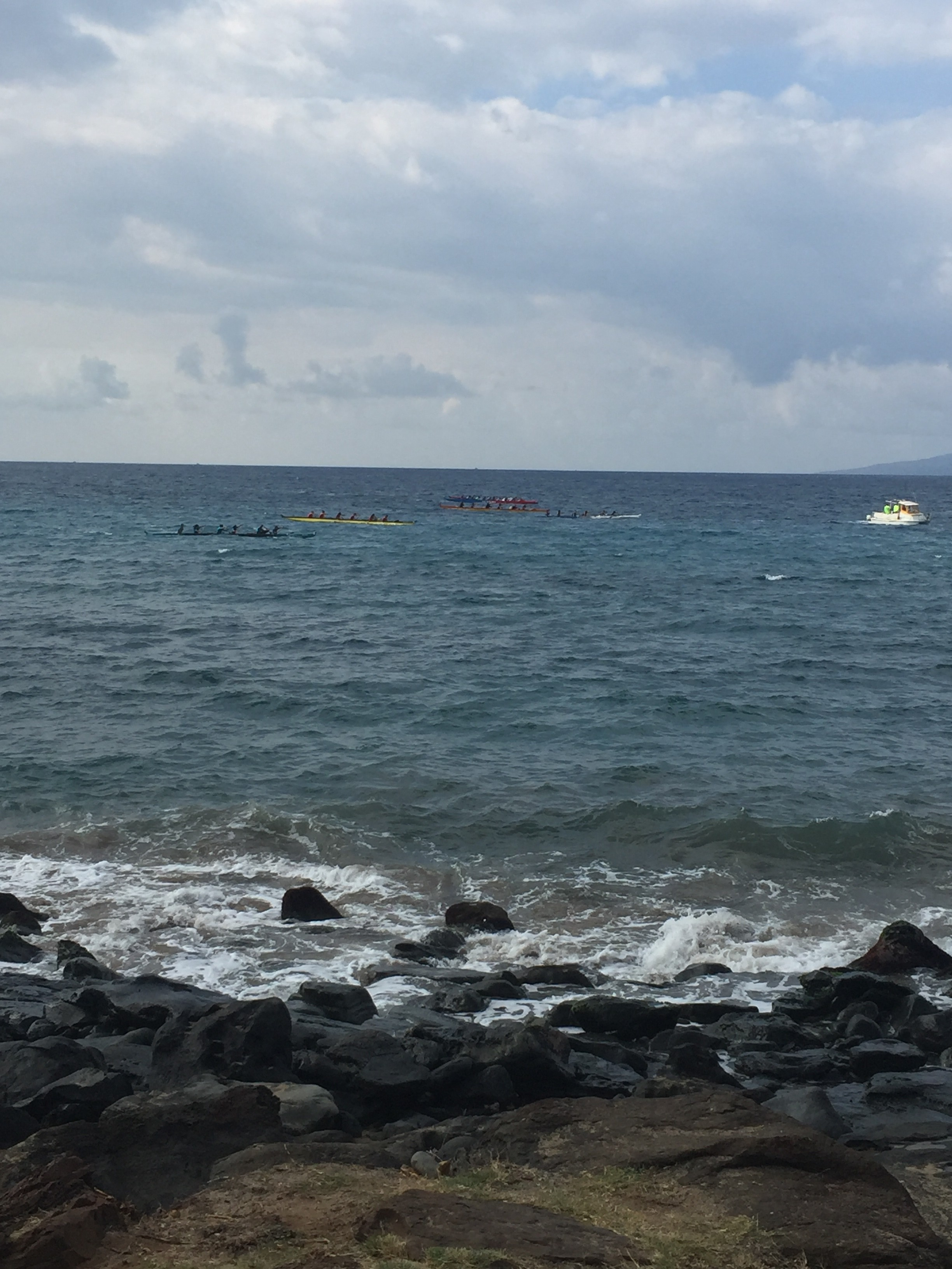 MIL Canoe Race Lahaina January 9th